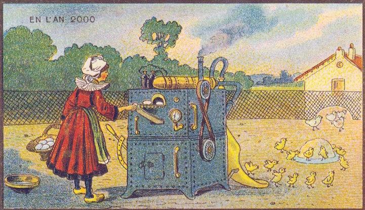 Geleceğe-övgü-2000yılı-19.yy.7  Geleceğe övgü: 2000 yılını hayal eden 19'uncu yüzyıl çizimleri Gelece C4 9Fe  C3 B6vg C3 BC 2000y C4 B1l C4 B1 19