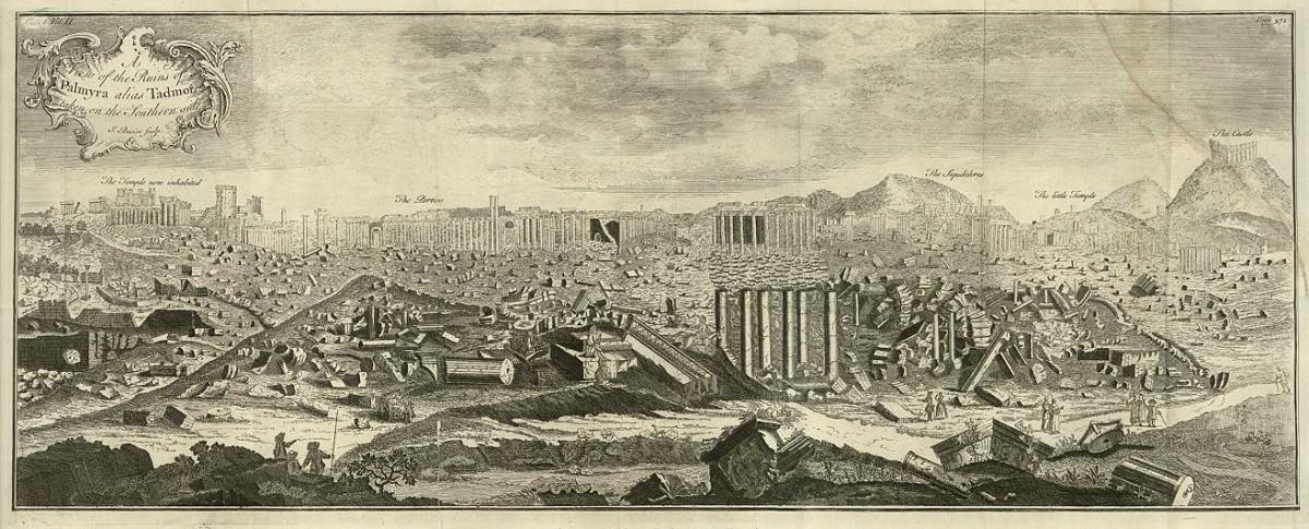 J. Basire tarafından 1747 yılında yapılan gravür.