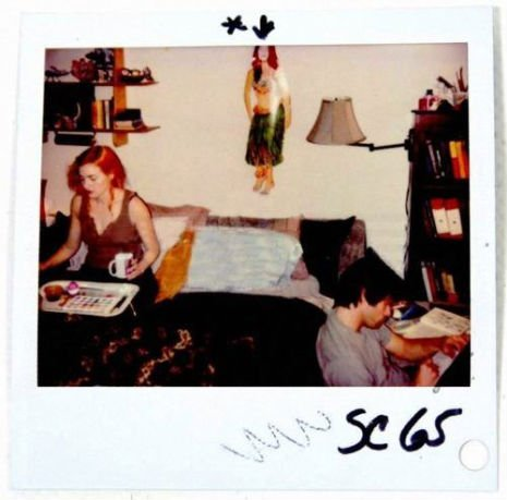 Kate Winslet ve Jim Carrey Polaroid