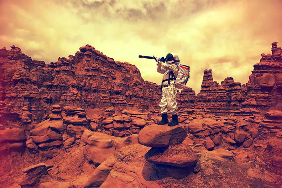 Mars'ta yaşam 3