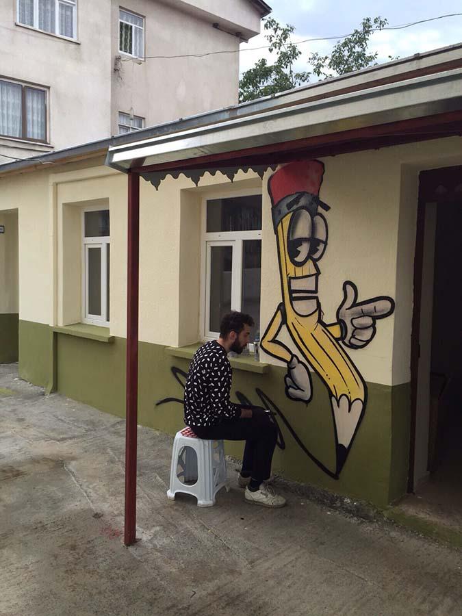 Rob, graffiti, artvin 1