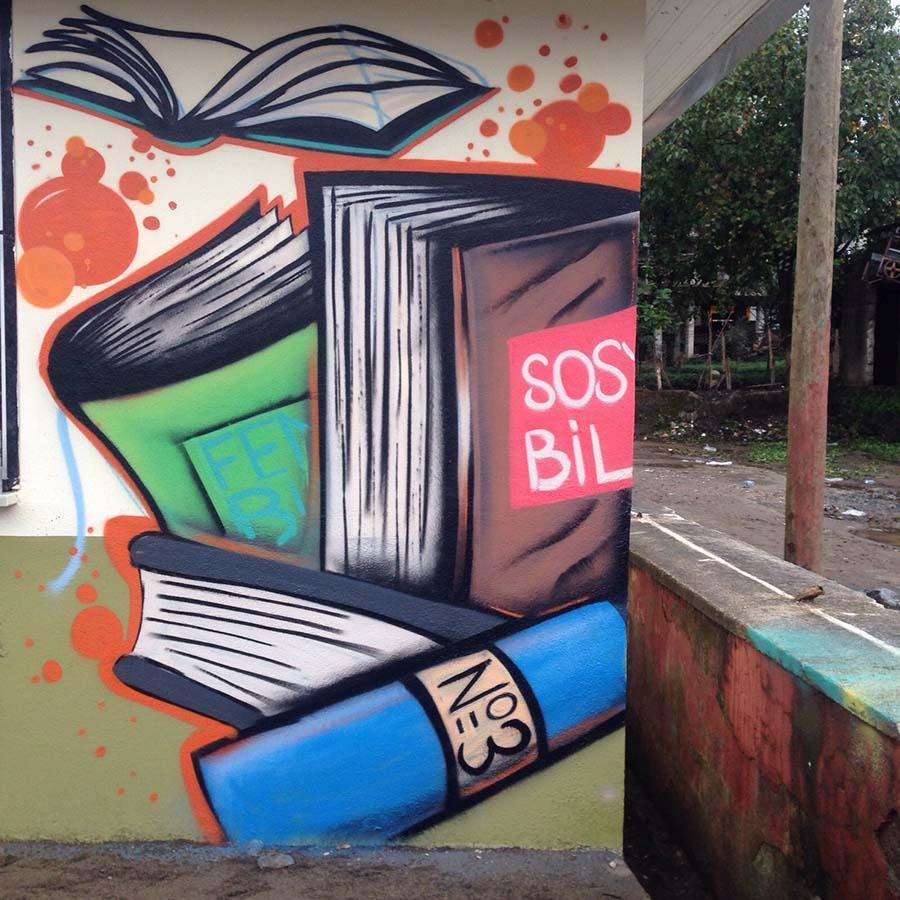 Rob, graffiti, artvin 3