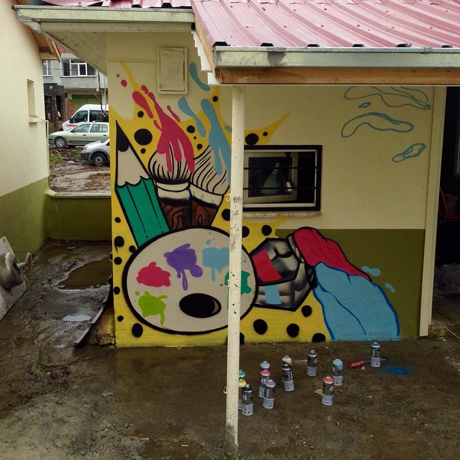 Rob, graffiti, artvin 5