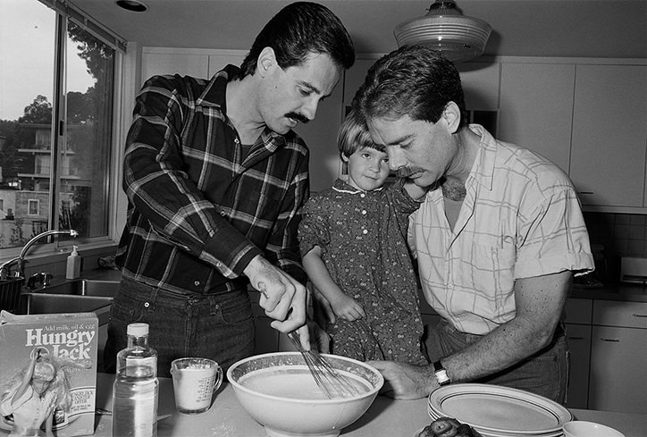 Sage Sohier - 80'lerde Amerika'da Eşcinsel Çiftler (8)