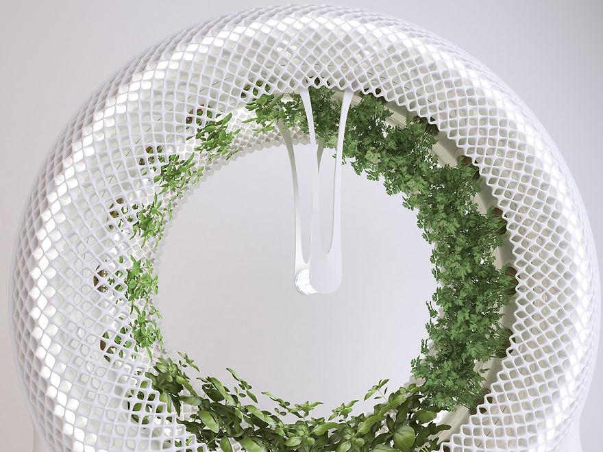 Bu yeşil çarklar evinizde kendi gıdanızı yetiştirmenizi sağlıyor