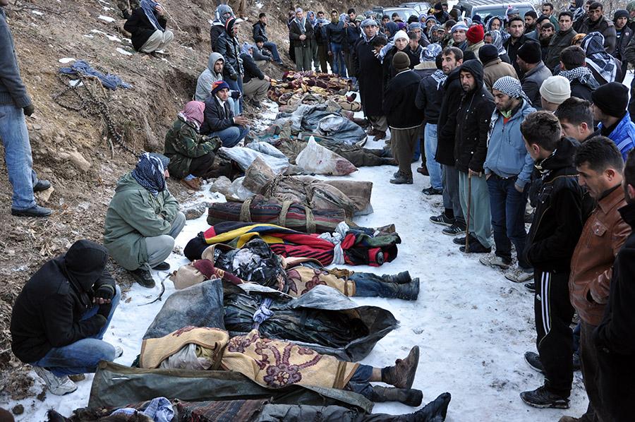 Uludere Katliamı 1  Katliamlar coğrafyası Türkiye: Zilan Deresi'nden Ankara'ya Uludere Katliam C4 B1 1