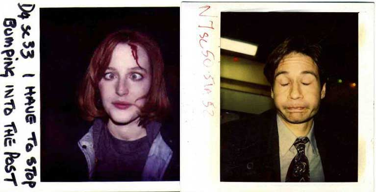X-Files Polaroid
