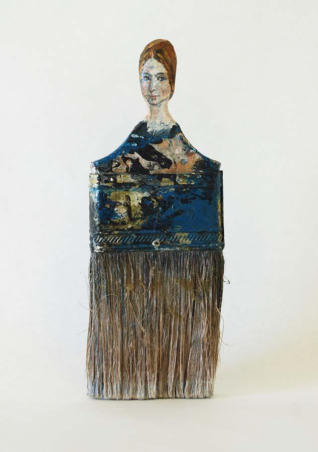 Boya Fırçasına yapılan portreler foto 10