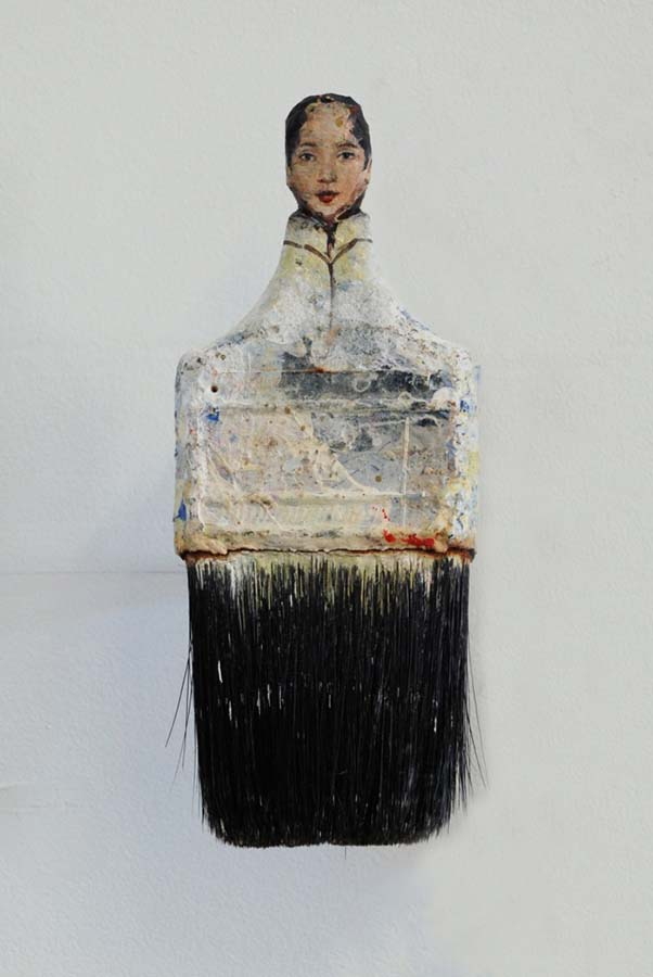 Boya Fırçasına yapılan portreler foto 2 - Kopya