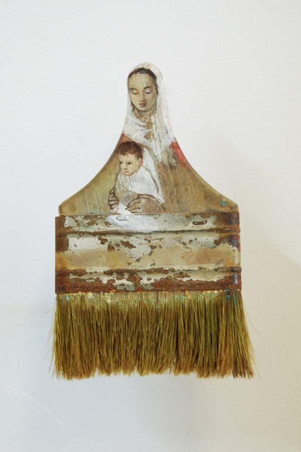 Boya Fırçasına yapılan portreler foto 3 - Kopya