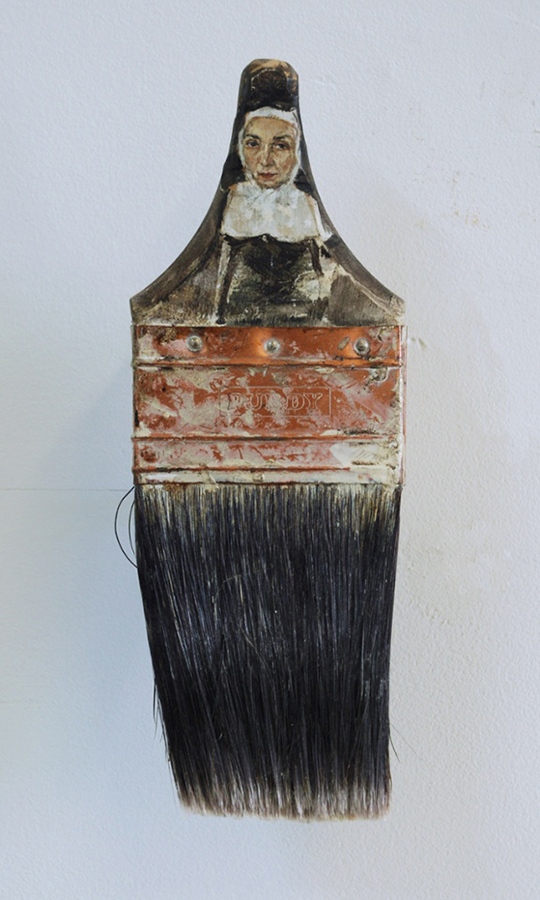 Boya Fırçasına yapılan portreler foto 7