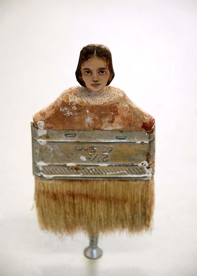 Boya Fırçasına yapılan portreler foto 9