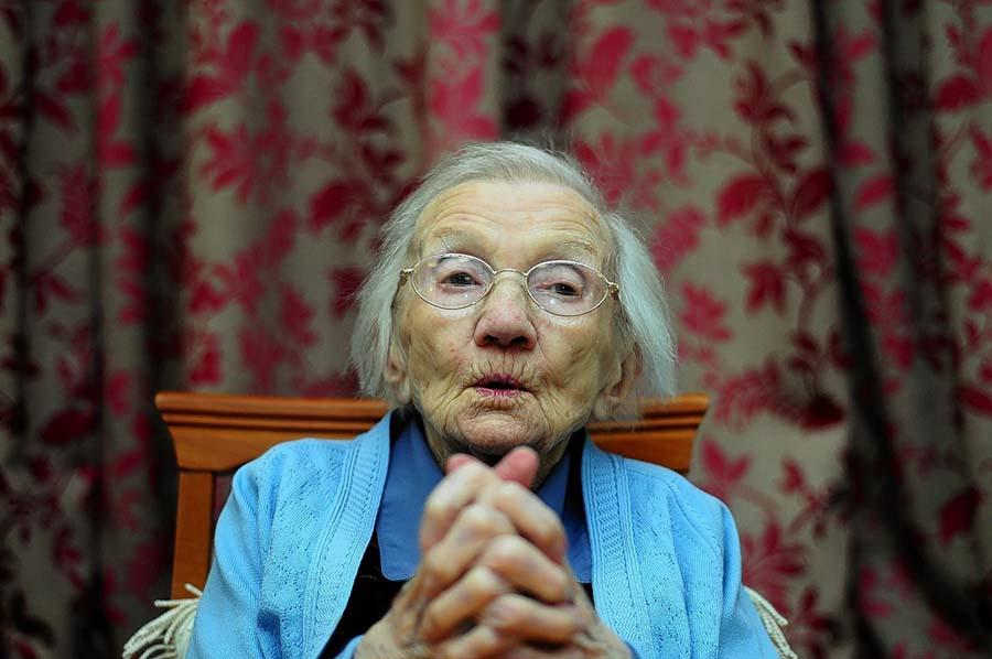 Centenarian Jessie Gallan 2