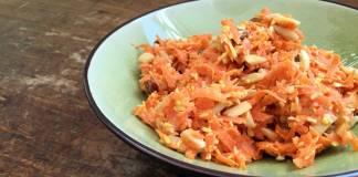 havuçlu ve hindistan cevizli salata