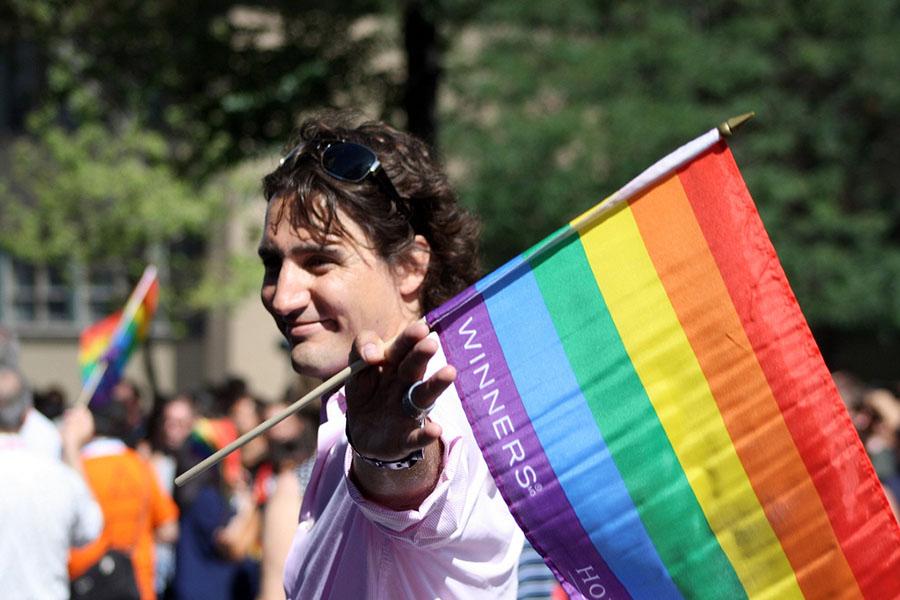 Kanada'nın yeni başbakanı Trudeau, Onur Yürüyüşü'nde