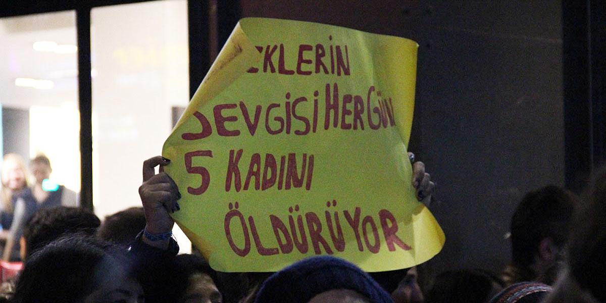 Baskıya, şiddete, ayrımcılığa karşı 25 Kasım'da tüm kadınlar alanlara!