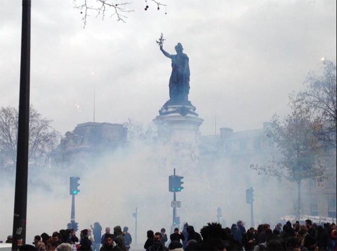 Paris İklim Gösteri 1