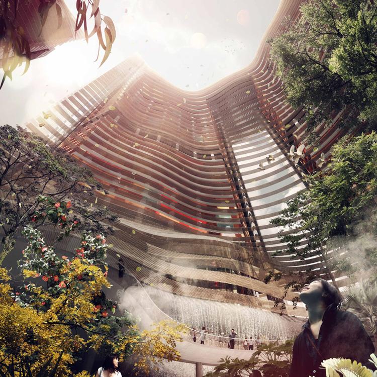 """Yeşille ve iklimle entegreli bir tasarım """"Yeşil Kalp"""" 4"""