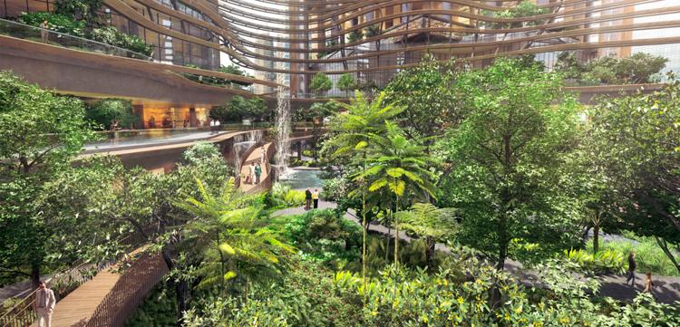 """Yeşille ve iklimle entegreli bir tasarım """"Yeşil Kalp"""" 5"""