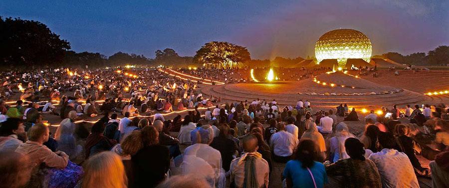 Auroville, Hindistan