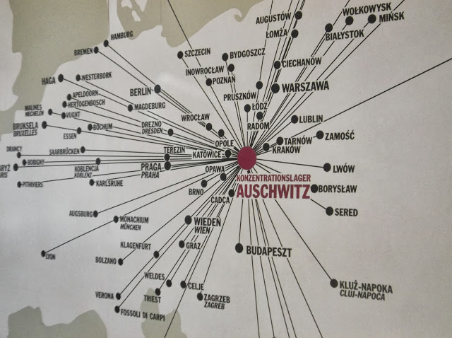 Auschwitz'in haritada konumu
