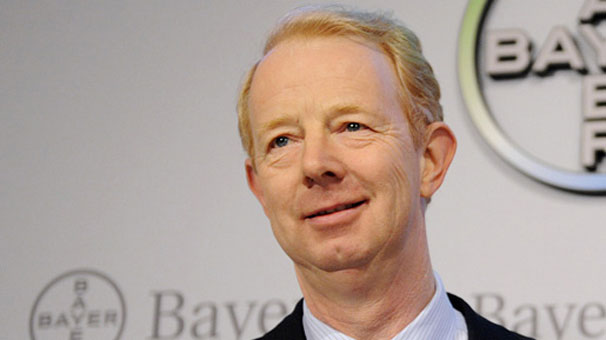Bayer'in CEO'su olan Marijn Dekker