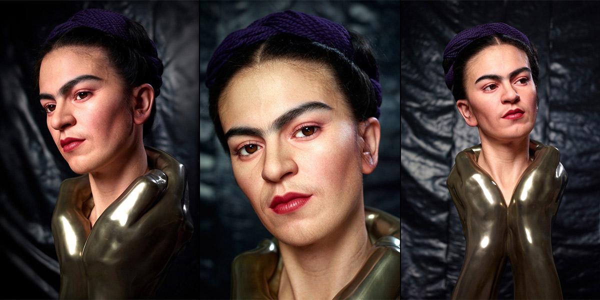 Frida Kahlo heykeli