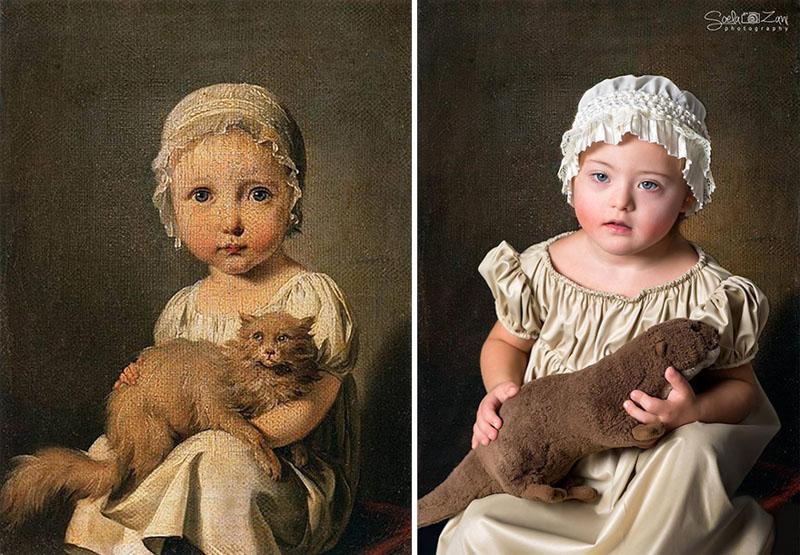 Gabrielle Arnault çocukken