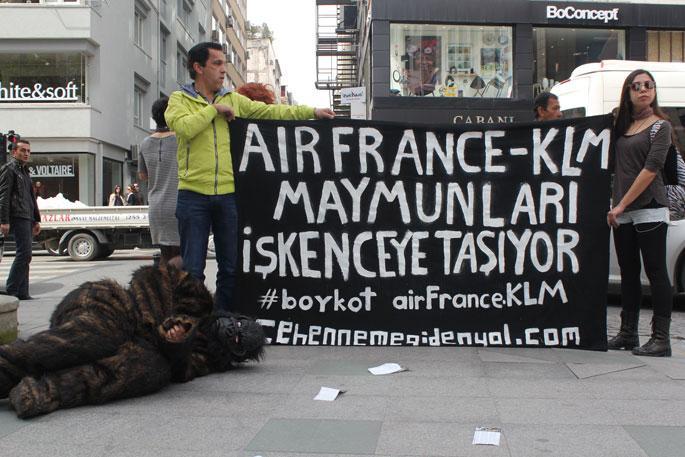 KLM-AIR Franca Türkiye Eylem