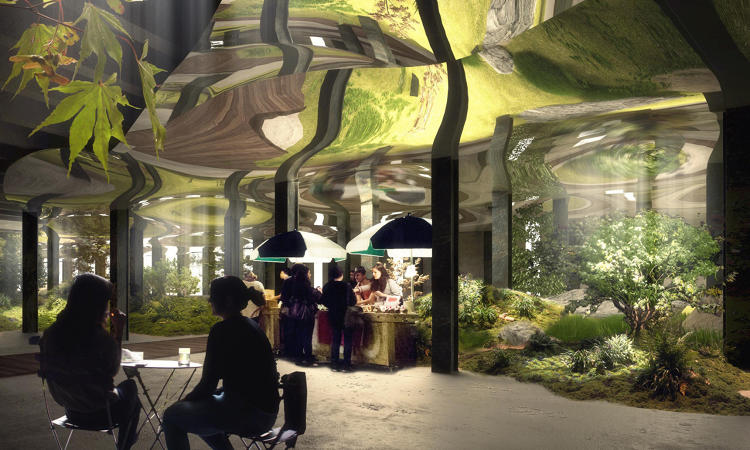 New York'un ilk yeraltı parkı 1