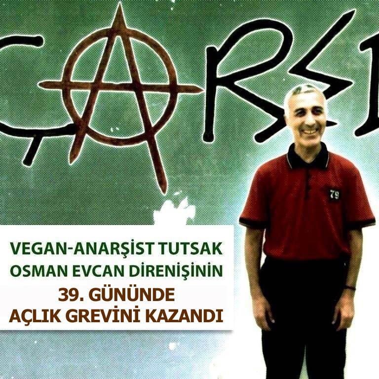 Osman Evcan Açlık Grevi