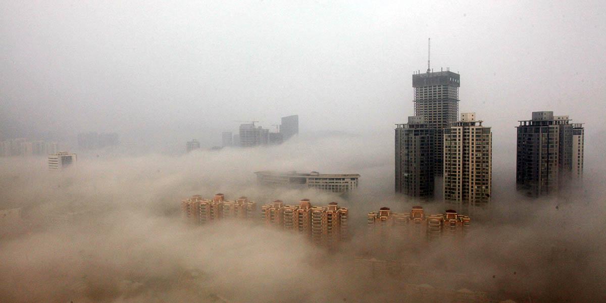 Pekin'de bir ilk: Hava kirliliğine