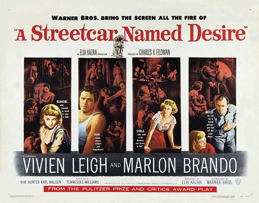 Poster - A Streetcar Named Desire_02