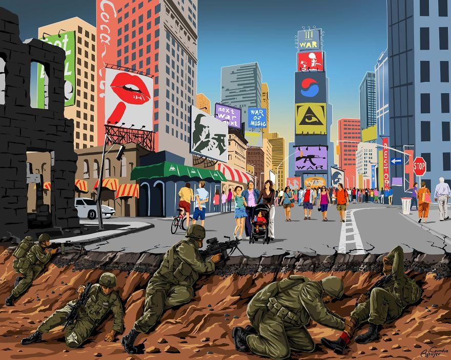 Savaş ve Barış, Gunduz Aghayev 3