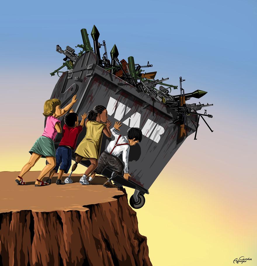 Savaş ve Barış, Gunduz Aghayev 9