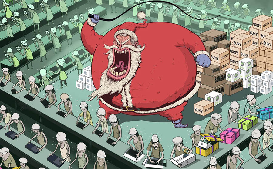 (Çizim: Steve Cutts)