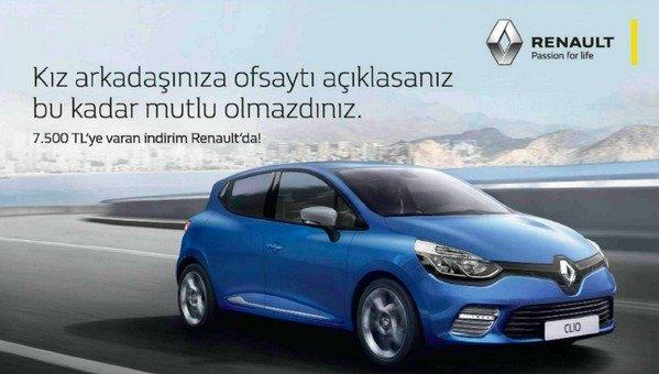 Renault'un cinsiyetçi reklamına tepkiler artıyor
