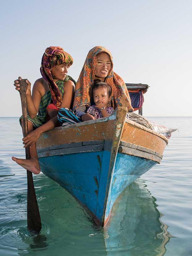 Borneo'daki deniz çingeneleri 12