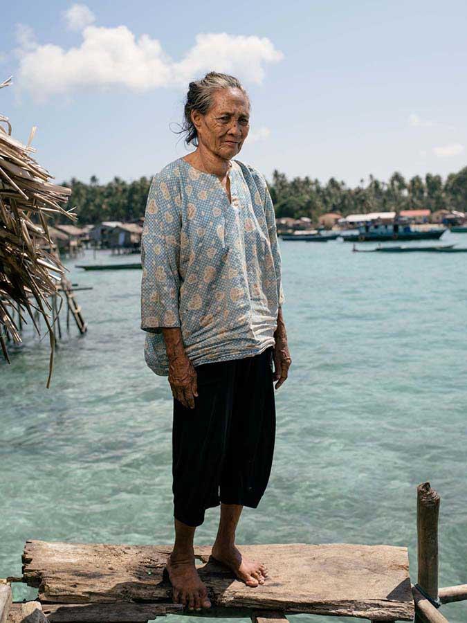 Borneo'daki deniz çingeneleri 15