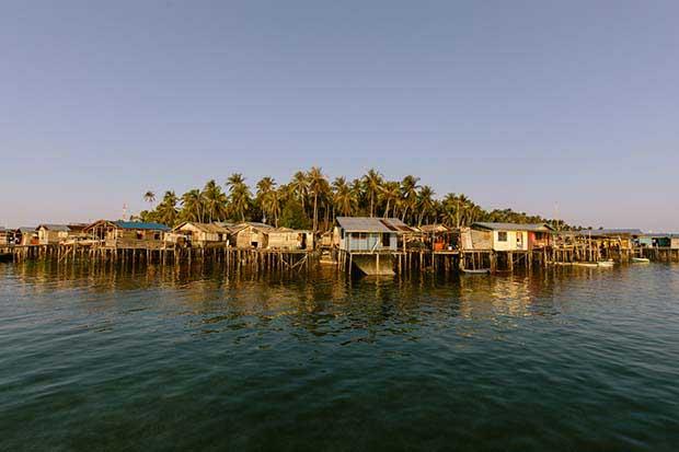 Borneo'daki deniz çingeneleri 4