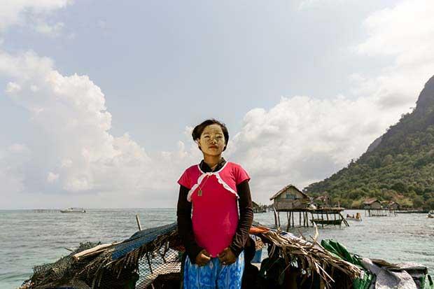 Borneo'daki deniz çingeneleri 7