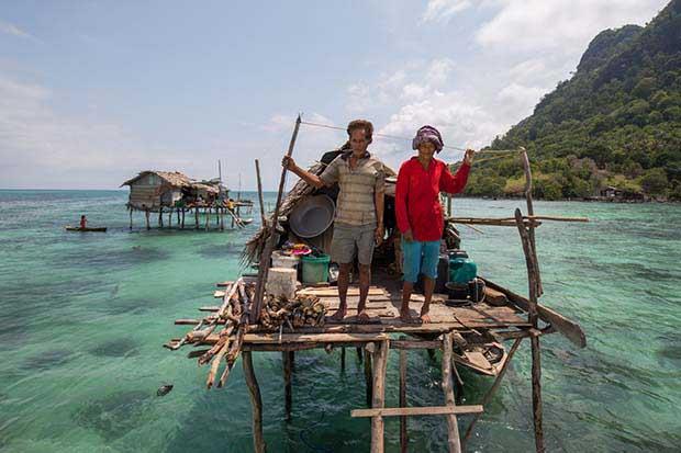 Borneo'daki deniz çingeneleri 8