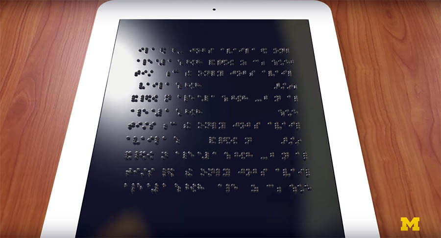 Braille Dinamik Ekran 2