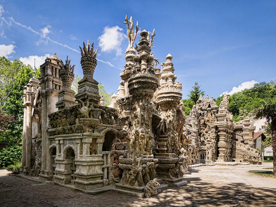 Fransiz postaci palais ideal sarayi 8