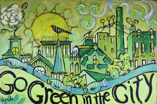 Go green city