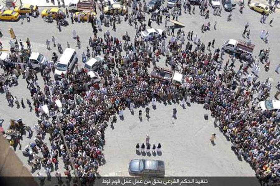IŞİD İnfaz Eşcinsel 2