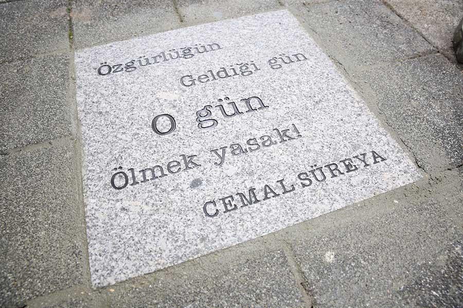 Kadıköy Belediyesi Cemal Süreyya Şiiri 3