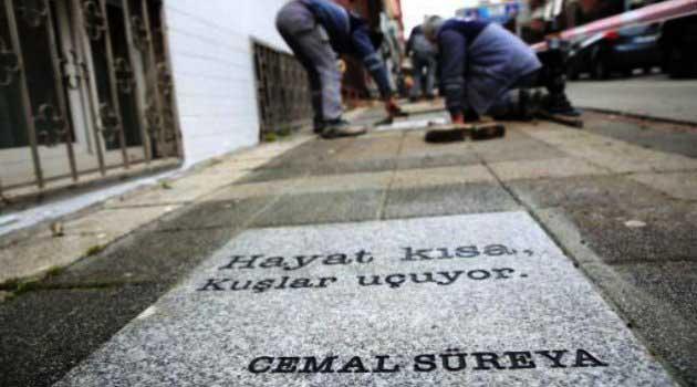Kadıköy Belediyesi Cemal Süreyya Şiiri