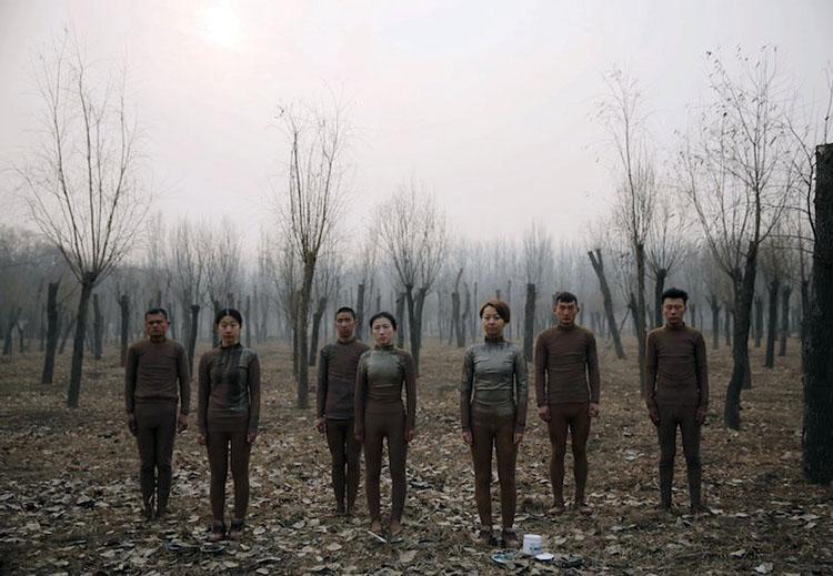 Görünmez Adam Liu Bolin 3