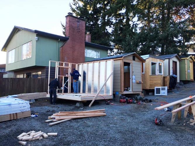 Minik ev koyu Seattle'daki evsizlere kapilarini acıyor 1